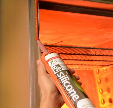 CSL523 Hi-Temp Non-Corrosive High Strength Silicone Sealant/Adhesive