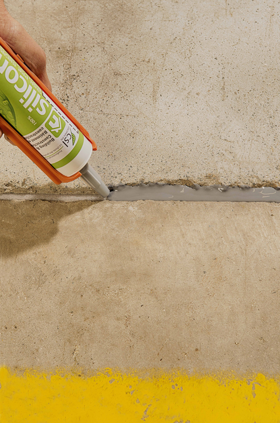 Csl316 High Performance Self Leveling Silicone Concrete